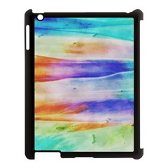Background Color Splash Apple Ipad 3/4 Case (black) by goodart