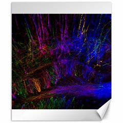 Color Splash Trail Canvas 8  X 10  by goodart