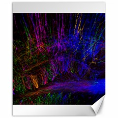 Color Splash Trail Canvas 16  X 20   by goodart