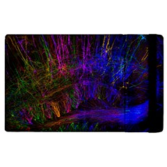 Color Splash Trail Apple Ipad 3/4 Flip Case by goodart