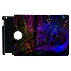 Color Splash Trail Apple Ipad 3/4 Flip 360 Case by goodart