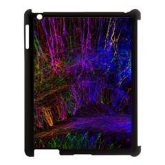 Color Splash Trail Apple Ipad 3/4 Case (black) by goodart