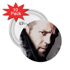 A Tribute To Jason Statham 2 25  Buttons (10 Pack)  by Naumovski