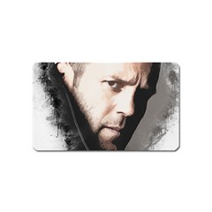 A Tribute To Jason Statham Magnet (name Card) by Naumovski