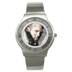 A Tribute To Jason Statham Stainless Steel Watch by Naumovski