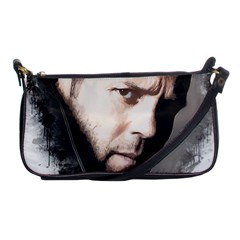 A Tribute To Jason Statham Shoulder Clutch Bags by Naumovski