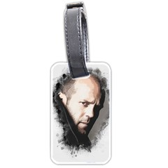 A Tribute To Jason Statham Luggage Tags (one Side)  by Naumovski