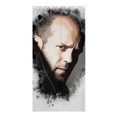 A Tribute To Jason Statham Shower Curtain 36  X 72  (stall)  by Naumovski