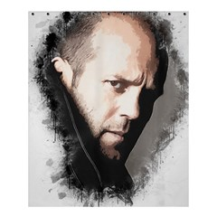A Tribute To Jason Statham Shower Curtain 60  X 72  (medium)  by Naumovski