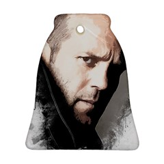A Tribute To Jason Statham Ornament (bell) by Naumovski