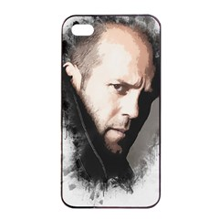 A Tribute To Jason Statham Apple Iphone 4/4s Seamless Case (black) by Naumovski