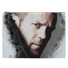 A Tribute To Jason Statham Cosmetic Bag (xxl)  by Naumovski