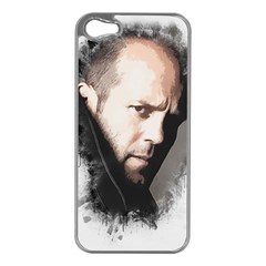 A Tribute To Jason Statham Apple Iphone 5 Case (silver) by Naumovski