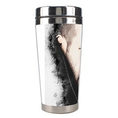 A Tribute To Jason Statham Stainless Steel Travel Tumblers by Naumovski