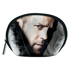 A Tribute To Jason Statham Accessory Pouches (medium)  by Naumovski