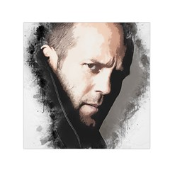 A Tribute To Jason Statham Small Satin Scarf (square) by Naumovski
