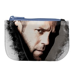 A Tribute To Jason Statham Large Coin Purse by Naumovski