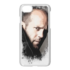 A Tribute To Jason Statham Apple Iphone 8 Seamless Case (white) by Naumovski
