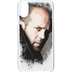 A Tribute To Jason Statham Apple Iphone X Seamless Case (white) by Naumovski