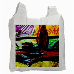 House Will Be Built 2 Recycle Bag (one Side) by bestdesignintheworld