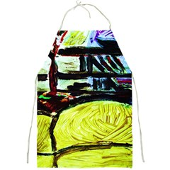 House Will Be Built 5 Full Print Aprons by bestdesignintheworld
