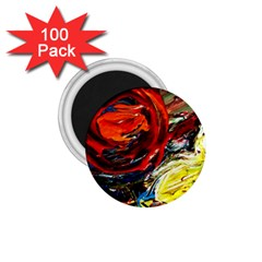 Sunset In A Mountains 1 75  Magnets (100 Pack)  by bestdesignintheworld