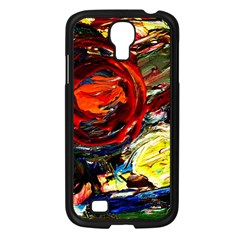 Sunset In A Mountains Samsung Galaxy S4 I9500/ I9505 Case (black) by bestdesignintheworld