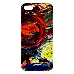 Sunset In A Mountains Iphone 5s/ Se Premium Hardshell Case by bestdesignintheworld