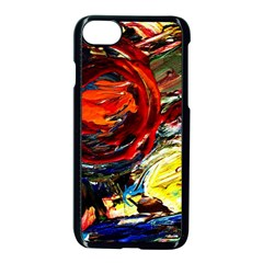 Sunset In A Mountains Apple Iphone 7 Seamless Case (black) by bestdesignintheworld
