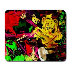 Spooky Attick 1 Large Mousepads by bestdesignintheworld