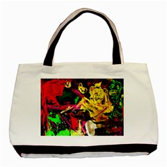 Spooky Attick 1 Basic Tote Bag by bestdesignintheworld