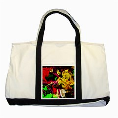 Spooky Attick 1 Two Tone Tote Bag by bestdesignintheworld