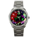 Spooky Attick 4 Sport Metal Watch Front