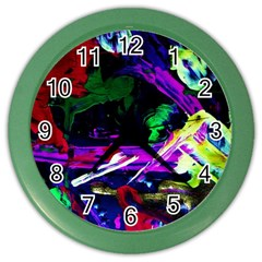 Spooky Attick 5 Color Wall Clocks by bestdesignintheworld