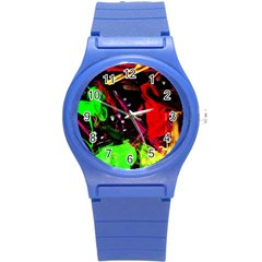 Spooky Attick 8 Round Plastic Sport Watch (s) by bestdesignintheworld