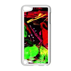 Spooky Attick 8 Apple Ipod Touch 5 Case (white) by bestdesignintheworld