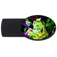 Spooky Attick 10 Usb Flash Drive Oval (4 Gb) by bestdesignintheworld