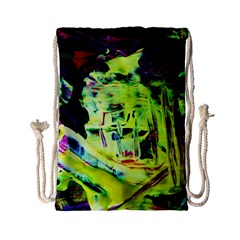 Spooky Attick 10 Drawstring Bag (small) by bestdesignintheworld