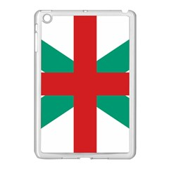 Naval Jack Of Bulgaria Apple Ipad Mini Case (white) by abbeyz71