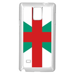 Naval Jack Of Bulgaria Samsung Galaxy Note 4 Case (white) by abbeyz71