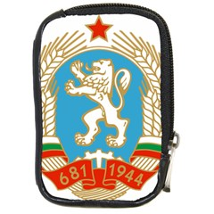 Coat Of Arms Of People s Republic Of Bulgaria, 1971 1990 Compact Camera Cases by abbeyz71