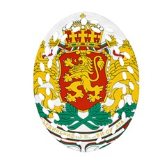 Coat Of Arms Of Bulgaria Ornament (oval Filigree) by abbeyz71