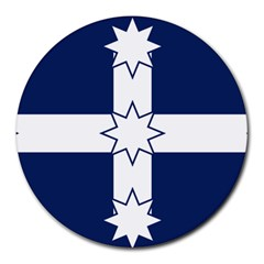 Eureka Flag Round Mousepads by abbeyz71