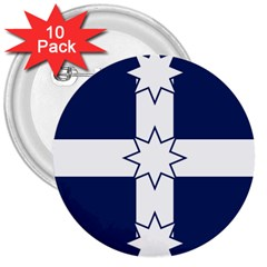 Eureka Flag 3  Buttons (10 Pack)  by abbeyz71