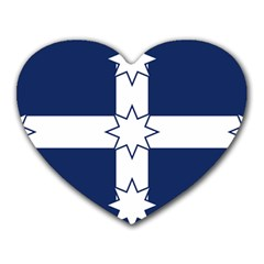 Eureka Flag Heart Mousepads by abbeyz71
