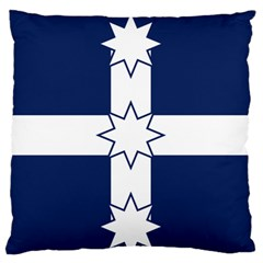 Eureka Flag Standard Flano Cushion Case (one Side) by abbeyz71