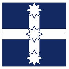 Eureka Flag Large Satin Scarf (square) by abbeyz71