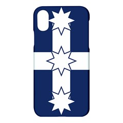 Eureka Flag Apple Iphone X Hardshell Case by abbeyz71