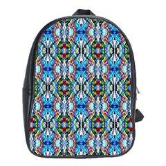 Artwork By Patrick Colorful 34 School Bag (xl) by ArtworkByPatrick