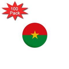 Roundel Of Burkina Faso Air Force 1  Mini Buttons (100 Pack)  by abbeyz71